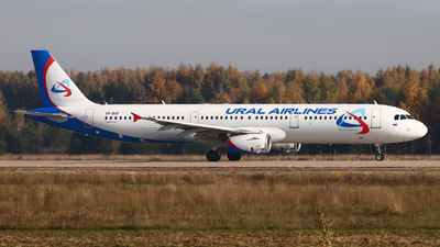 VP-BVF - Airbus A321-231 - Ural Airlines