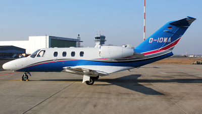 D-IOWA - Cessna 525 CitationJet 1 Plus - Private
