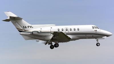 XA-PVL - British Aerospace BAe 125-700A - Private