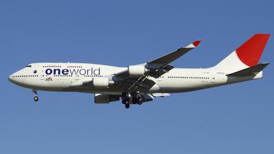 JA8913 - Boeing 747-446 - Japan Airlines (JAL)