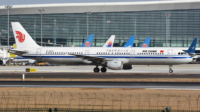 A picture of B6631 - Airbus A321213 - Air China - © MTG_001