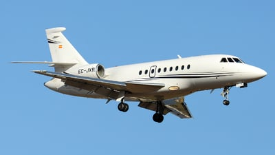 EC-JXR - Dassault Falcon 2000 - Gestair Private Jets