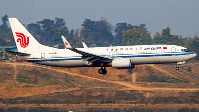 B-5621 - Boeing 737-89L - Air China