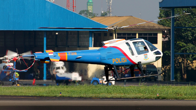 P-3018 - Enstrom 480B - Indonesia - Police