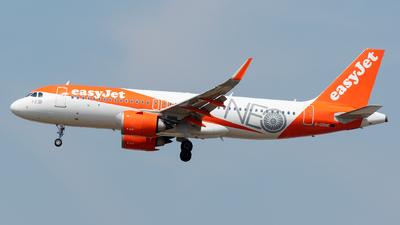 G-UZHC - Airbus A320-251N - easyJet