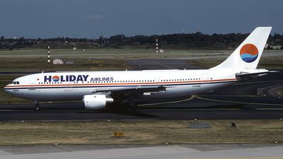 TC-RAE - Airbus A300B4-2C - Holiday Airlines