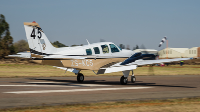ZS-KCS - Beechcraft 58 Baron - Private