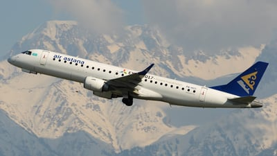 P4-KCC - Embraer 190-100LR - Air Astana