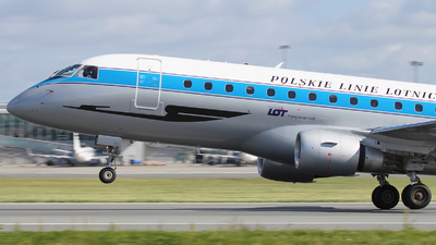 SP-LIE - Embraer 170-200STD - LOT Polish Airlines
