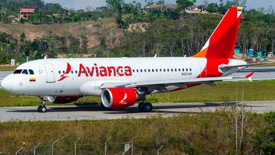 N577AV - Airbus A319-115 - Avianca