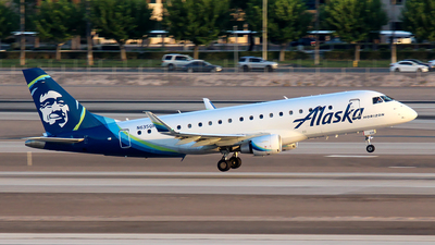 N635QX - Embraer 170-200LR - Alaska Airlines (Horizon Air)