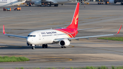 B-1108 - Boeing 737-8LY - Kunming Airlines
