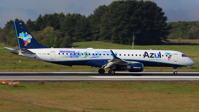 PR-AXA - Embraer 190-200IGW - Azul Linhas Aéreas Brasileiras