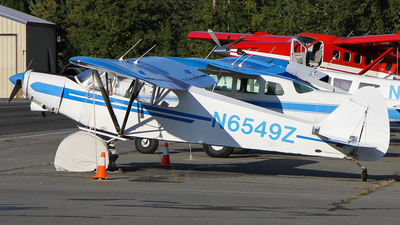 N6549Z - Piper PA-18-150 Super Cub - Private