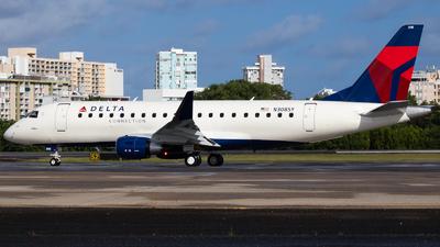 A picture of N308SY - Embraer E175LR - Delta Air Lines - © Marcos Perez Sanchez