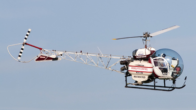 N2618W - Bell 47G-3B - Private