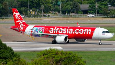 A picture of HSEAA - Airbus A321251NX - AirAsia - © Amarase Pamarapa