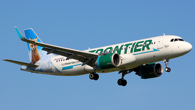 A picture of N329FR - Airbus A320251N - Frontier Airlines - © Chrisjake