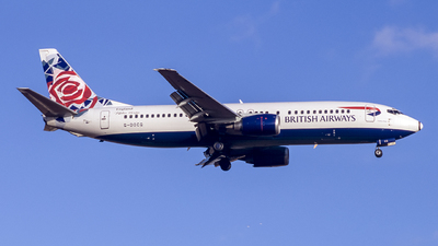 G-DOCG - Boeing 737-436 - British Airways