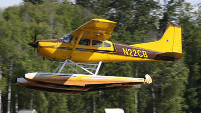 N22CB - Cessna A185F Skywagon - Private