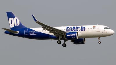 VT-WJQ - Airbus A320-271N - Go Air