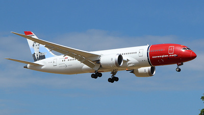 EI-LNG - Boeing 787-8 Dreamliner - Norwegian