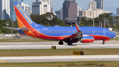 A picture of N408WN - Boeing 7377H4 - Southwest Airlines - © Mark Lawrence