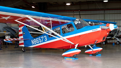 A picture of N86573 - Bellanca 8KCAB - [13274] - © HAOFENG YU