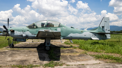 A picture of FAB5701 - Embraer A29A Super Tucano -  - © Radioactivity