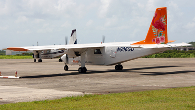 N906GD - Britten-Norman BN-2 Islander - Air Flamenco