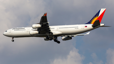 RP-C3435 - Airbus A340-313 - Philippine Airlines