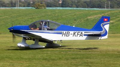 HB-KFA - Robin HR200/160 Acrobin - Groupe de vol à moteur du Chablais