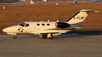 G-FLBK - Cessna 510 Citation Mustang - Private