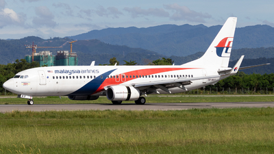 A picture of 9MMXY - Boeing 7378H6 - Malaysia Airlines - © Kody Chin