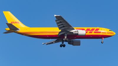 A picture of EIOZL - Airbus A300B4622R(F) - DHL - © Marcello Montagna spotter_napoli
