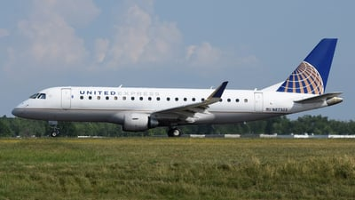 A picture of N87303 - Embraer E175LR - United Airlines - © DJ Reed - OPShots Photo Team