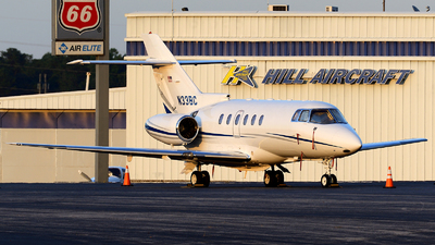 N33BC - Raytheon Hawker 800XP - Private