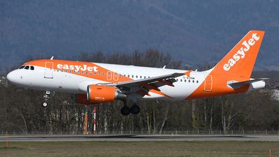 A picture of GEZNM - Airbus A319111 - easyJet - © Paul Denton