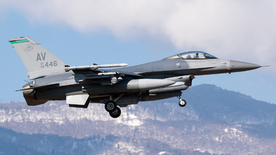 88-0446 - General Dynamics F-16CG Fighting Falcon - United States - US Air Force (USAF)