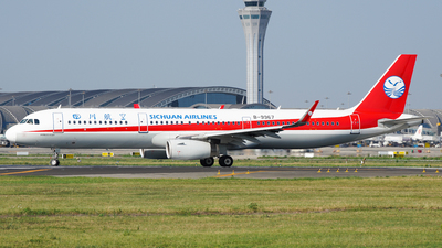 A picture of B9967 - Airbus A321231 - Sichuan Airlines - © CHEN SHUO
