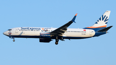 A picture of TCSOF - Boeing 7378HC - SunExpress - © Stefan Bayer