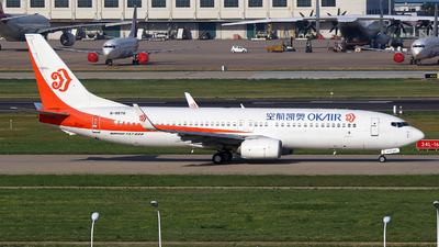 B-5578 - Boeing 737-8AS - OK Air