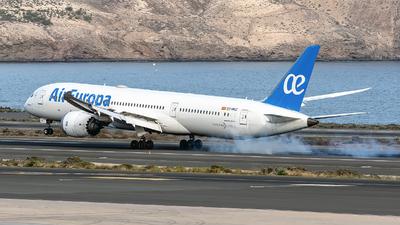 A picture of ECMSZ - Boeing 7879 Dreamliner - Air Europa - © Bartolome Fernandez - Gran Canaria Spotters