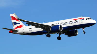 G-TTNE - Airbus A320-251N - British Airways