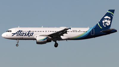N628VA - Airbus A320-214 - Alaska Airlines