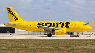 N508NK - Airbus A319-132 - Spirit Airlines