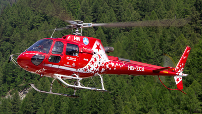 A picture of HBZCX - Eurocopter AS350 B3 Ecureuil -  - © Sandra