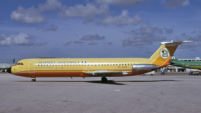 TG-AZA - British Aircraft Corporation BAC 1-11 Series 500 - Aviateca