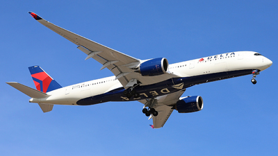 N504DN - Airbus A350-941 - Delta Air Lines