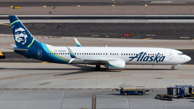 A picture of N319AS - Boeing 737990 - Alaska Airlines - © 702Aviationn